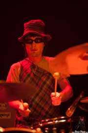 Mikel Lertxundi, baterista de On Benito (Bilborock, Bilbao, 2008)