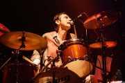 Bill Milhizer, baterista de The Fleshtones (, , 2008)