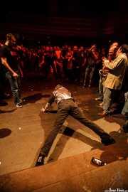 Peter Zaremba, cantante, teclista y armonicista de The Fleshtones (, , 2008)