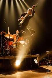 Bill Milhizer -batería- y armónica- y Keith Streng -guitarra y voz- de The Fleshtones (, , 2008)