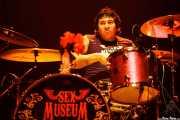 """Jorge J. Armijos """"Jota"""", baterista de Sex Museum, Kafe Antzokia, 2008"""