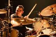 Oscar Camarón, baterista de Ya te Digo, Kafe Antzokia, Bilbao. 2008