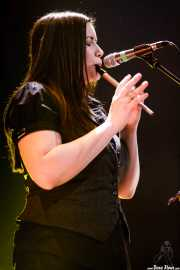 Bridget Regan, violinista y flautista de Flogging Molly (Bilborock, Bilbao, 2008)