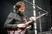 Lyndon Parish, guitarrista y teclista de The Sunday Drivers (Bilbao BBK Live, Bilbao, 2008)