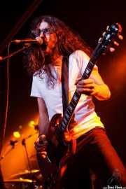 Miguel Moral, guitarrista y cantante de Positiva, Barakaldo. 2008