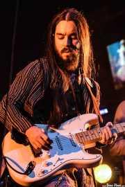 Rambo The Street King, guitarrista de The Cherry Boppers (Kafe Antzokia, Bilbao, 2008)