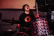 Enric Foll, baterista de The Meows, El Balcón de la Lola, Bilbao. 2008