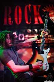 Jim Baglino, bajista de Monster Magnet (Sala Rockstar, Barakaldo, 2008)