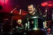 Martxelo Mendizabal, baterista de Aterkings, Sala Rockstar. 2008