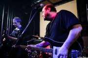 Txano -guitarrista- y Cavan -bajista y cantante- de Los Rotos, Bilbao. 2008