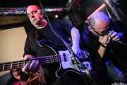Cavan -bajista y cantante- y Mikel Batiz -armonicista- de Los Rotos, Bilbao. 2008