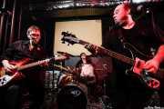 Txano -guitarrista-, Txema Gure -baterista- y Cavan -bajista y cantante- de Los Rotos, Bilbao. 2008