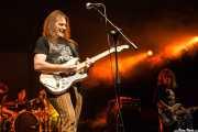 Paul Whaley -batería-, Duck MacDonald -guitarra- y Dickie Peterson -voz y bajo- de Blue Cheer (, , 2008)