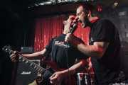 Mikel Txurruka -guitarrista- e Iñigo Goikoetxea -cantante- de Aterkings, El Balcón de la Lola. 2009