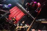 Iñigo Goikoetxea -cantante-, Mikel Txurruka -guitarrista-, Iker Etxebarria -bajista- y Martxelo Mendizabal -baterista- de Aterkings, El Balcón de la Lola. 2009