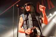 Rudi Protrudi, cantante, armonicista y guitarrista de The Fuzztones (Sala Rockstar, Barakaldo, 2009)
