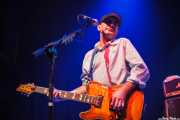 Ian McCallum, guitarrista de Stiff Little Fingers, Kafe Antzokia. 2009
