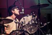 Paul Thomson, baterista de Franz Ferdinand, Pabellón de La Casilla, 2009