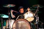 """Scott """"Scottzilla"""" Churilla, baterista de Supersuckers (Kafe Antzokia, Bilbao, 2009)"""