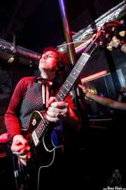 Jim Jones, cantante y guitarrista de The Jim Jones Revue (El Balcón de la Lola, Bilbao, 2009)