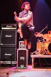 Jason Barwick, cantante y guitarrista de The Brew (Kafe Antzokia, Bilbao, 2009)