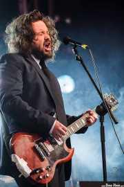 "Laurent Lacrouts ""Malcom"", cantante y guitarrista de The Inspector Cluzo (Azkena Rock Festival, Vitoria-Gasteiz, 2009)"