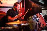 Oscar Camarón, baterista de Ya te Digo, El Balcón de la Lola, Bilbao. 2009