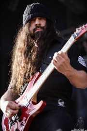 Rob Caggiano, guitarrista de Anthrax, Kobetasonk, 2009