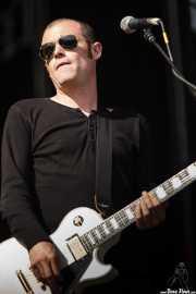 Juanjo Reig, guitarrista de Cycle, Bilbao BBK Live. 2009