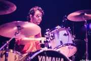 Sergio Patxuko, baterista de Transalpine Boys (Bilborock, Bilbao, 2009)