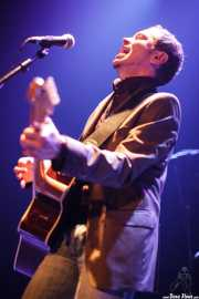 "Flavio Bánterla ""Finegiro"", cantante y guitarrista de Transalpine Boys (Bilborock, Bilbao, 2009)"