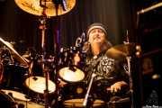 Bernie Pershey, baterista de Eric Sardinas & Big Motor, Jimmy Jazz Gasteiz, Vitoria-Gasteiz. 2009