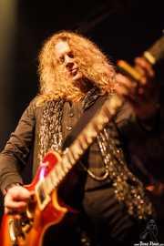 Paul Guerin, guitarrista de The Quireboys, Kafe Antzokia, Bilbao. 2009