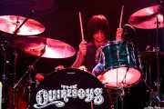 Phil Martini, baterista de The Quireboys, Kafe Antzokia, Bilbao. 2009