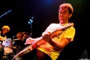 """Joseba Aranburu """"Joss"""" -guitarrista- y Jon Maurolagoitia -baterista-, de Those Radios, Bilborock, 2009"""