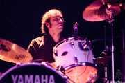 Jon Maurolagoitia, baterista de Those Radios, Bilborock, 2009