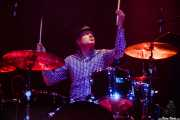 Fredrik Sandsten, baterista de The Soundtrack of Our Lives (Kafe Antzokia, Bilbao, 2009)