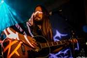 Paul Jackson, guitarrista de Blackberry Smoke (Estación marítima, Santader, 2009)