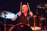 Mike Irwin, baterista de Crank County Daredevils (Kafe Antzokia, Bilbao, 2010)