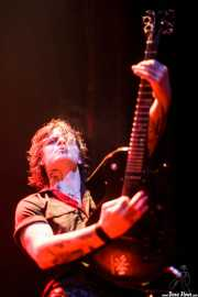 Rory Kelly, guitarrista de Crank County Daredevils (Kafe Antzokia, Bilbao, 2010)