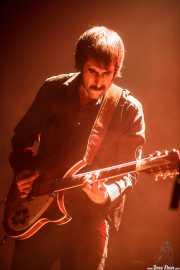 Alain Martínez, cantante y guitarrista de The Dirty Pink Ladies, Plateruena Antzokia, Durango. 2010