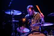 Joe Winters, baterista de The Steepwater Band (Kafe Antzokia, Bilbao, 2010)