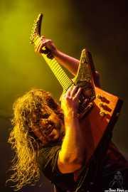 David Roads,guitarrista de Airbourne (Azkena Rock Festival, Vitoria-Gasteiz, 2010)