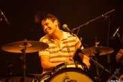 Joe Bradley, baterista y cantante de The Black Lips