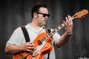 Darrel Higham, guitarrista de Imelda May, Azkena Rock Festival. 2010