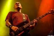 Stu West, bajista de The Damned, Azkena Rock Festival, Vitoria-Gasteiz. 2010