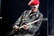 Captain Sensible, guitarrista y cantante de The Damned, Azkena Rock Festival, Vitoria-Gasteiz. 2010