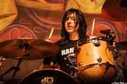 Brent Fitz, baterista de Slash featuring Myles Kennedy and The Conspirators (Azkena Rock Festival, Vitoria-Gasteiz, 2010)