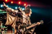 Gene Simmons (The Demon), bajista de Kiss, Azkena Rock Festival. 2010