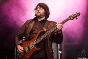 Craig Bell, bajista de The Cubical (Azkena Rock Festival, Vitoria-Gasteiz, 2010)